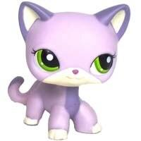 Лпс стоячки кошки Игрушки для кошек lps, редкие подставки, маленькие короткие волосы, котенок, розовый#2291, серый#5, черный#994,, коллекция фигурок для питомцев - Цвет: 2094
