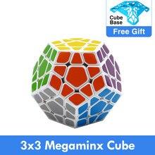 Shengshou Wumofang 3x3x3 sihirli küp 3x3 Dodecahedron küp hız 12 taraflı koleksiyonu magico cubo oyuncak çocuk çocuklar için
