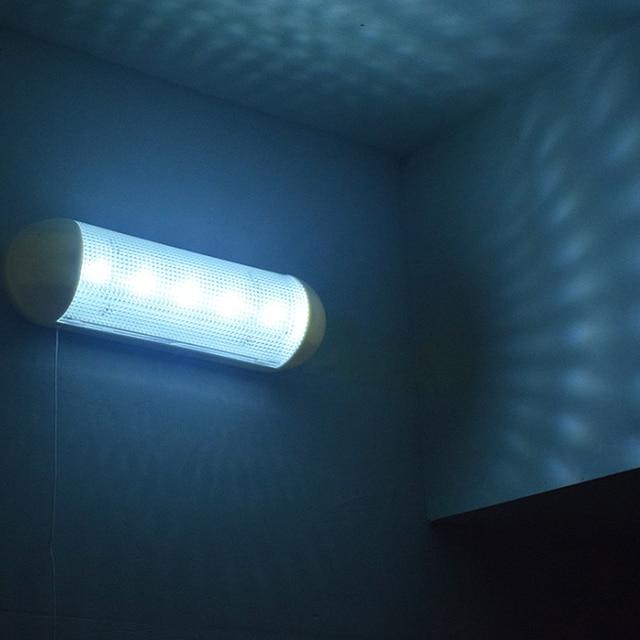 LED şarj edilebilir güneş enerjili LED duvar lambası çekme ışık Split tip bahçe Yard balkon lambası ev kullanımı için