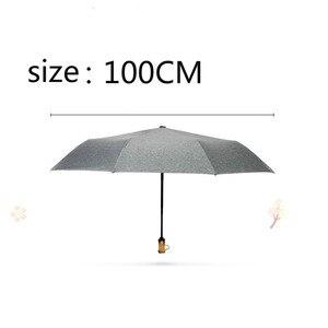 Image 5 - 2019 폭발 작고 상쾌한 세 배 우산 여성의 초경량 컬러 플라스틱 햇볕이 잘 드는 우산 우산