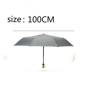 Image 5 - 2019Explosionsmall and refreshing three fold umbrella womens ultralight colored plastic sunny or rainy umbrella umbrella