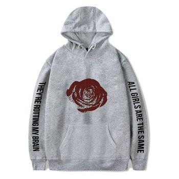 rapper Juice Wrld Hoodies Men/Women 2019 New Arrivals Fashion print pop hip hop style cool Juice Wrld sweatshirt hoody coats 1