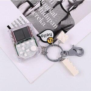 1 шт. стильный необычный креативный Мини-Игровой Автомат тетрис сумка для ключей Автомобильный кулон брелок необычное кольцо для ключей с игрушкой удивительный подарок Брелоки