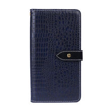 Phone Case for Vernee T3 Pro,[Cash and Card Slots],Crocodile pattern Leather Case,Flip Phone Case for Vernee T3 Pro(China)