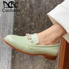 CoolCept Women Flats Shoes Genuine Leath