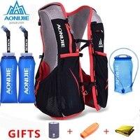 AONIJIE 5L марафон гидратация жилет пакет для 1.5L сумка для воды для женщин мужчин Велоспорт Пешие прогулки сумка для спорта на открытом воздухе ...