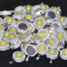 50pcs 1W LED Chips Cold white 110-120 lm LED Beads LED 1w White