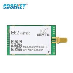 433 Mhz Long Range E62-433T30D Full Duplex Tdd Fhss Fec Draadloze Rf Module 1W Uart 433 Mhz Rf Zender en Ontvanger Module