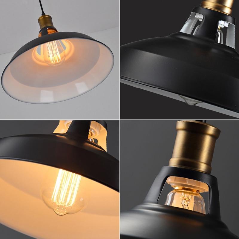 luzes pingente retro lampada e27 titular edison 04