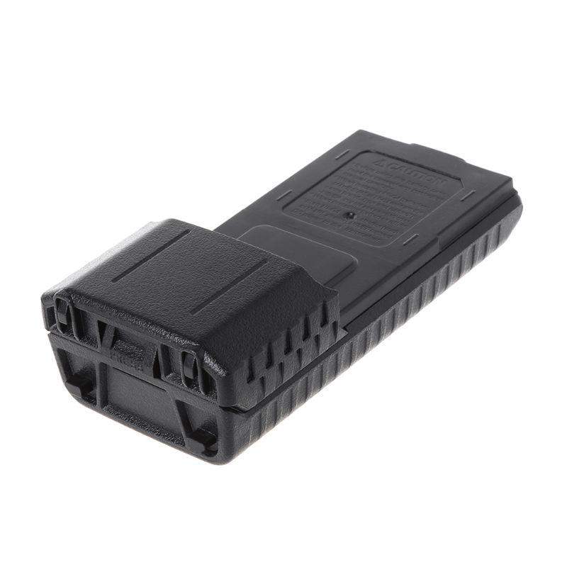 BaoFeng BF-UV5R Walkie Talkie Speaker Extended 6x AA Battery Case Shell Pack X6HA