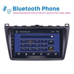 """Image 3 - Seicane 9 """"2din Android 9.0 araba radyo Wifi GPS navigasyon ünitesi oyuncu Mazda 6 Rui 2008 2009 2010 2011 2012 2013 2014 2015"""