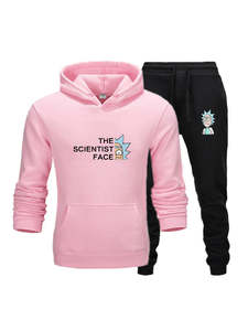 Men Tracksuit Two-Pieces-Set Brand Clothes Hoodies Sportswear Fashion New Hot Autumn