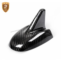 Carbon Fiber Shark Fin Radio Roof Antenna Cover Trim Fit For Maserati Levante 2016 2017 2018 Car Styling Automobiles Accessories