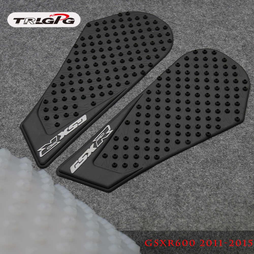 Untuk Suzuki GSXR600 GSXR750 Gsxr 600 750 2011 2012 2013 2014 Tank Pad Protector Sticker Decal Gas Lutut Pegangan Traksi sisi Pad