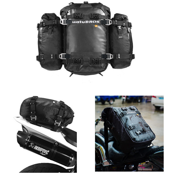 Top Case Motorcycle Uglybros Ubb-217 Motorcycle Rear Bag / Add-on Package Multifunction Saddle Shoulder Send Waterproof Cover