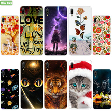 Anti-fall Soft Silicone Phone Cover For Huawei Y6 Y7 Pro 2019 in Fitted Case Y9 Prime 2018