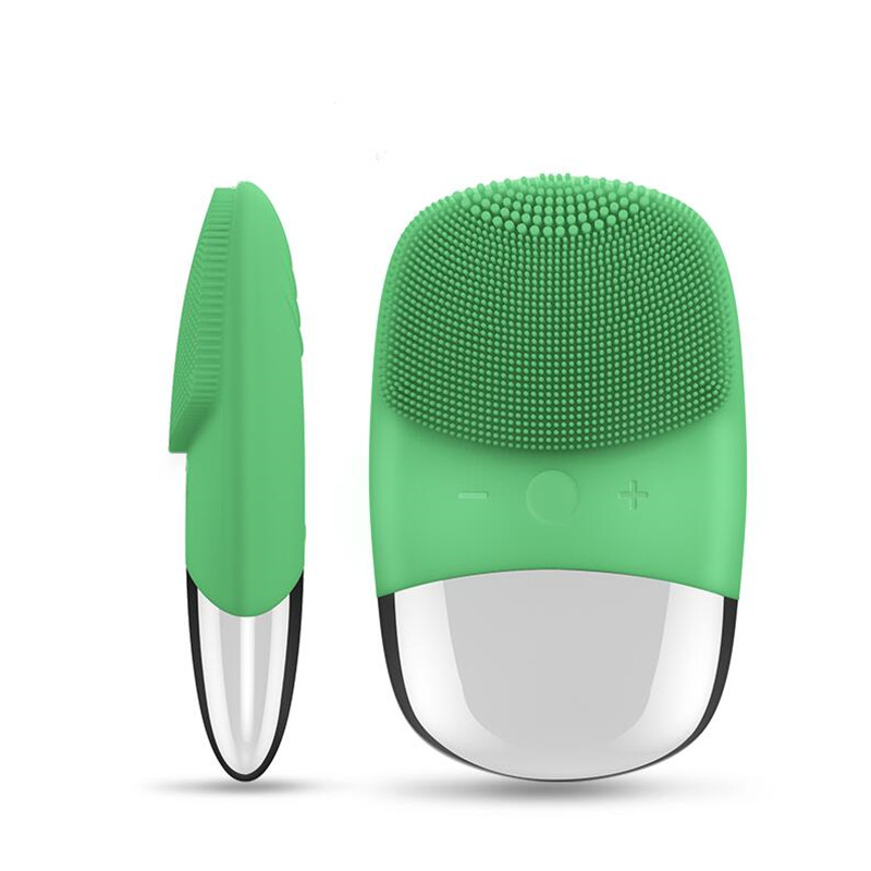 2020 New Deep Facial Face Cleaning Brush Electric Massage Brush Washing Machine Waterproof Silicone Cleansing Tools