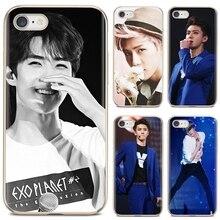Для Xiaomi mi band для Xiaomi Redmi Note 3 4 4X для детей 5, 6, 7, 8, 8t 9 9s 9t 10 pro lite чехол для телефона о SeHun EXO-K EXO команда в Корейском стиле