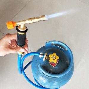 Image 5 - โพรเพนเหลวแก๊สจุดระเบิดอิเล็กทรอนิกส์ปืนเชื่อมไฟฉายเครื่องอุปกรณ์ 2.5M ท่อสำหรับบัดกรีเชื่อมทำอาหารความร้อน