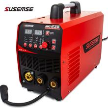 IGBT Digital Display MIG/TIG/MMA Welder 3 in1 Welding Machine 220V DC 200Amp Inverter  Flux Cored Wire Solid Core Wire Welder