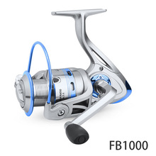 Spinning Reel 12BB+1 Stainless Steel 1000 6000 Right Left Hand Metal Coil Spool Ice Jigging Fishing