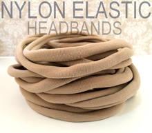 Оптовая продажа эластичные нейлоновые повязки на голову Размер