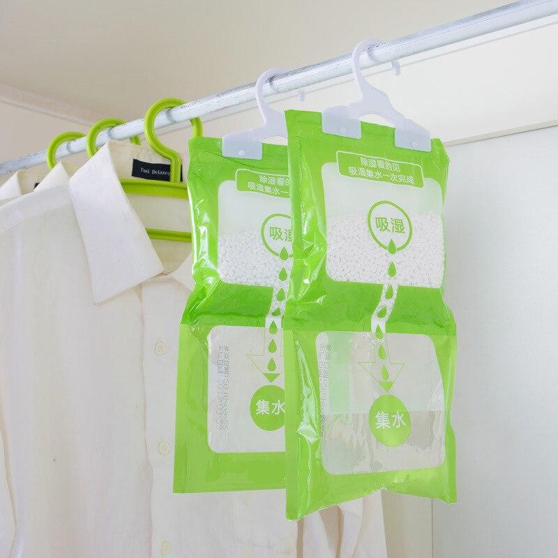 Hanging Wardrobe Reusable Moisture Absorber Bag Dehumidifier Drying Agent  Anti Mold Desiccant Bag Deshumidificador