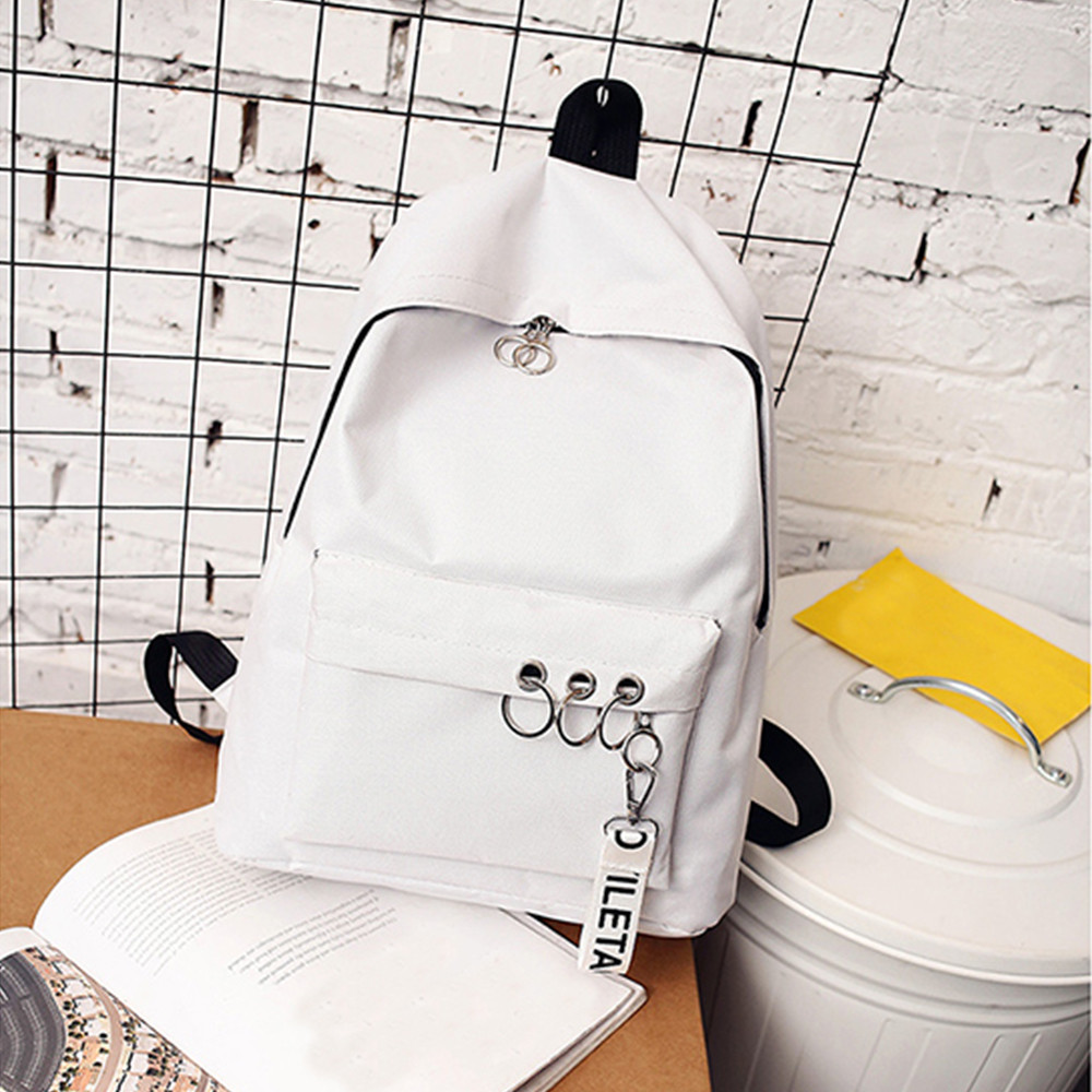 2019 New Unisex Canvas Backpacks Reuseful Waterproof School Travel Bags For Teenagers Girls Laptop Backpacks Patchwork Backpack