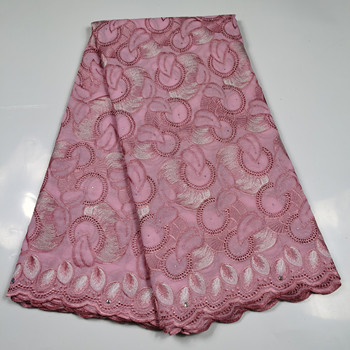 High Quality Embroidery Onion Lace Fabric Swiss Voile Lace In Switzerland France Design African Swiss Cotton Lace Fabric