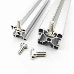 10/5/2pcs M5 M6 M8 T Hammer Head T Bolt Aluminum Connector T head bolts Screws for 20/30/40/45 Aluminum Profiles