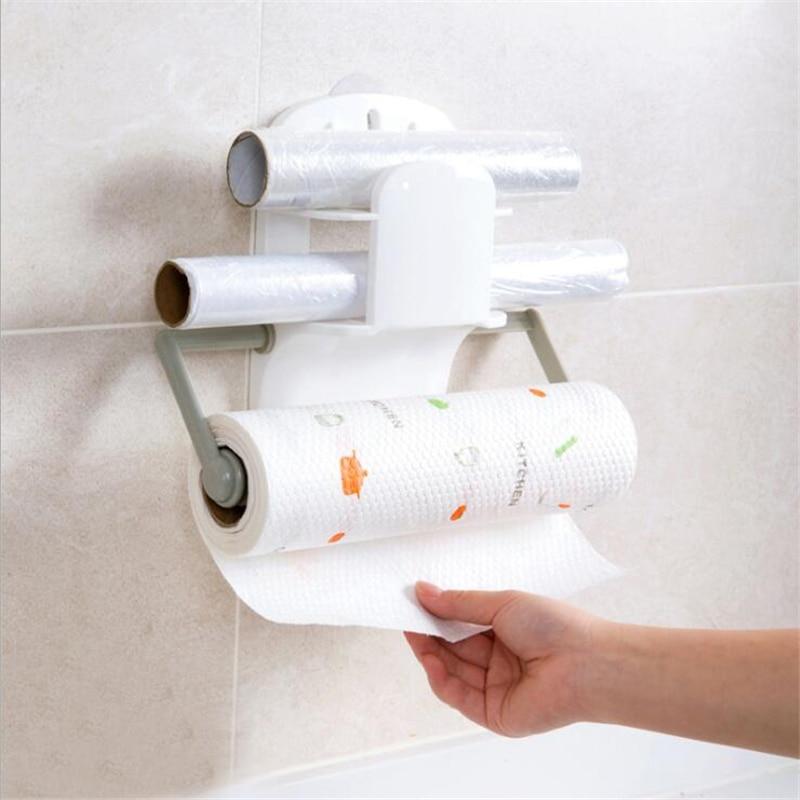 Кухонный держатель рулона бумаги, тканевая вешалка на шкаф, подвесная полка для ванной комнаты, держатель туалетной бумаги, вешалка для