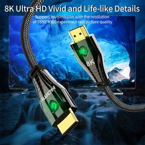 Image 4 - HDMI 2.1 4K 120HZ Hdmiความเร็วสูง 8K 60 HZ UHD HDR 48GbpsสายHDMI ycbcr4: 4:4 ConverterสำหรับPS4 HDTVโปรเจคเตอร์