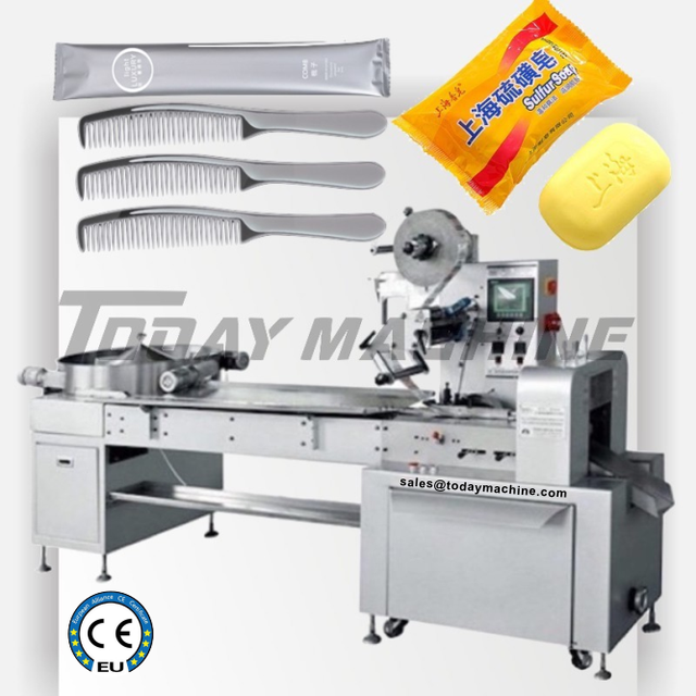 Face Mask Automatic Packing Machine, N95 Respirator Mask Disposable Flow Wrapper 5