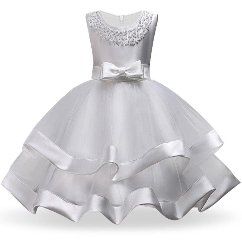 Girls Dress Elegant New Year Princess Children Party Dress Wedding Gown Kids Dresses for Girls Birthday Party Dress Vestido Wear 10