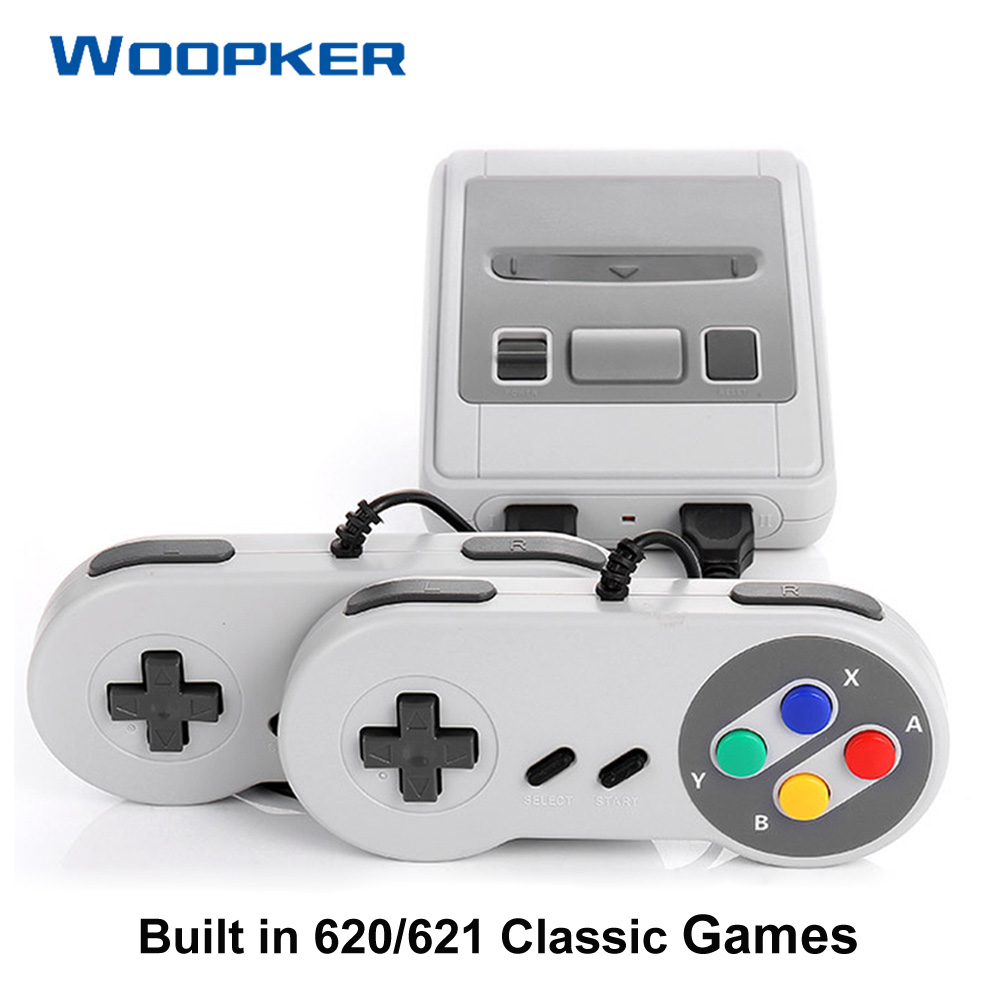 Handheld Video Gaming Console Build In 620 621 Retro Classic Game Support AV HDMI Output TV Video Games
