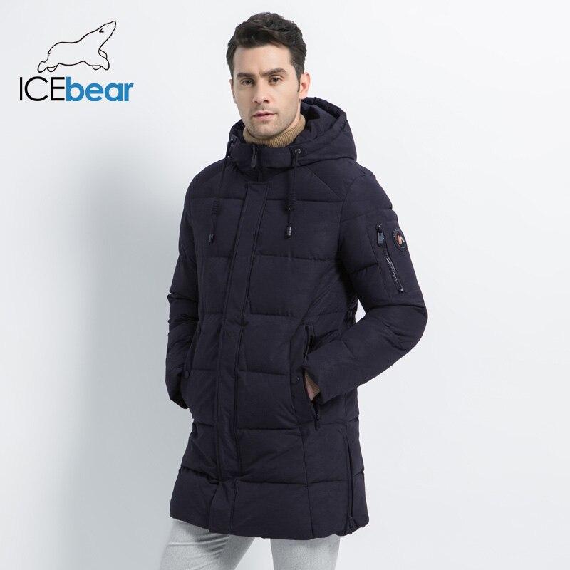 ICEbear 2019 新冬メンズジャケット高品質男性のコート厚く暖かい男性の綿の服ブランド男アパレル MWD17933I  グループ上の メンズ服 からの パーカー の中 3