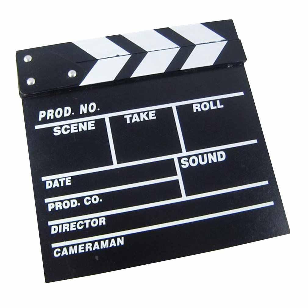 مدير فيديو الاكريليك اللوح TV الفيلم السينمائي كلابر مجلس سليت مع اللون العصي 20*20 سنتيمتر