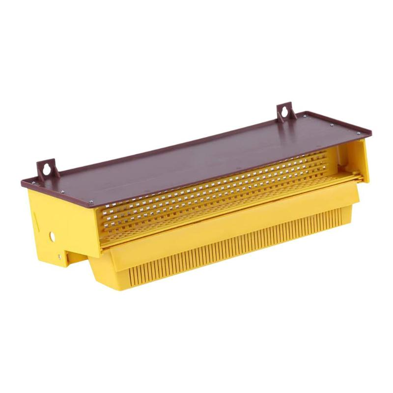 Removable Beekeeping Plastic Pollen Tray Wide Scope Of Application Reliability Safety Collector Bee Hive Beekeeping Tools