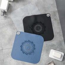1pc pia do banheiro filtro do banheiro cobertura de chão cozinha filtro de esgoto banho de chuveiro capa de dreno do dissipador de chão filtro de cabelo rolha j50