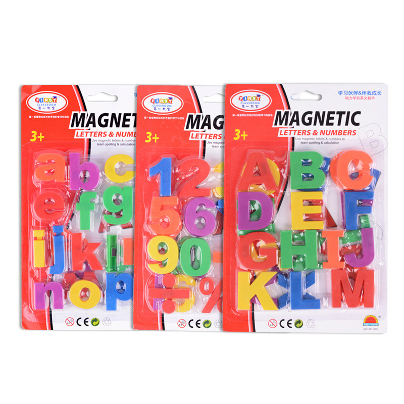 Maths Number Fridge Magnets Learning Toys Gift Magnetic A-Z Alphabet Letter Language Baby Early Educational Toys For Children