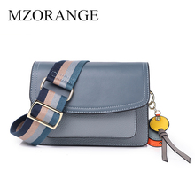 Genuine leather Shoulder Bag Luxury Designer Bags Famous Brand Women bags 2019 Crossbody For women With Wide Strap