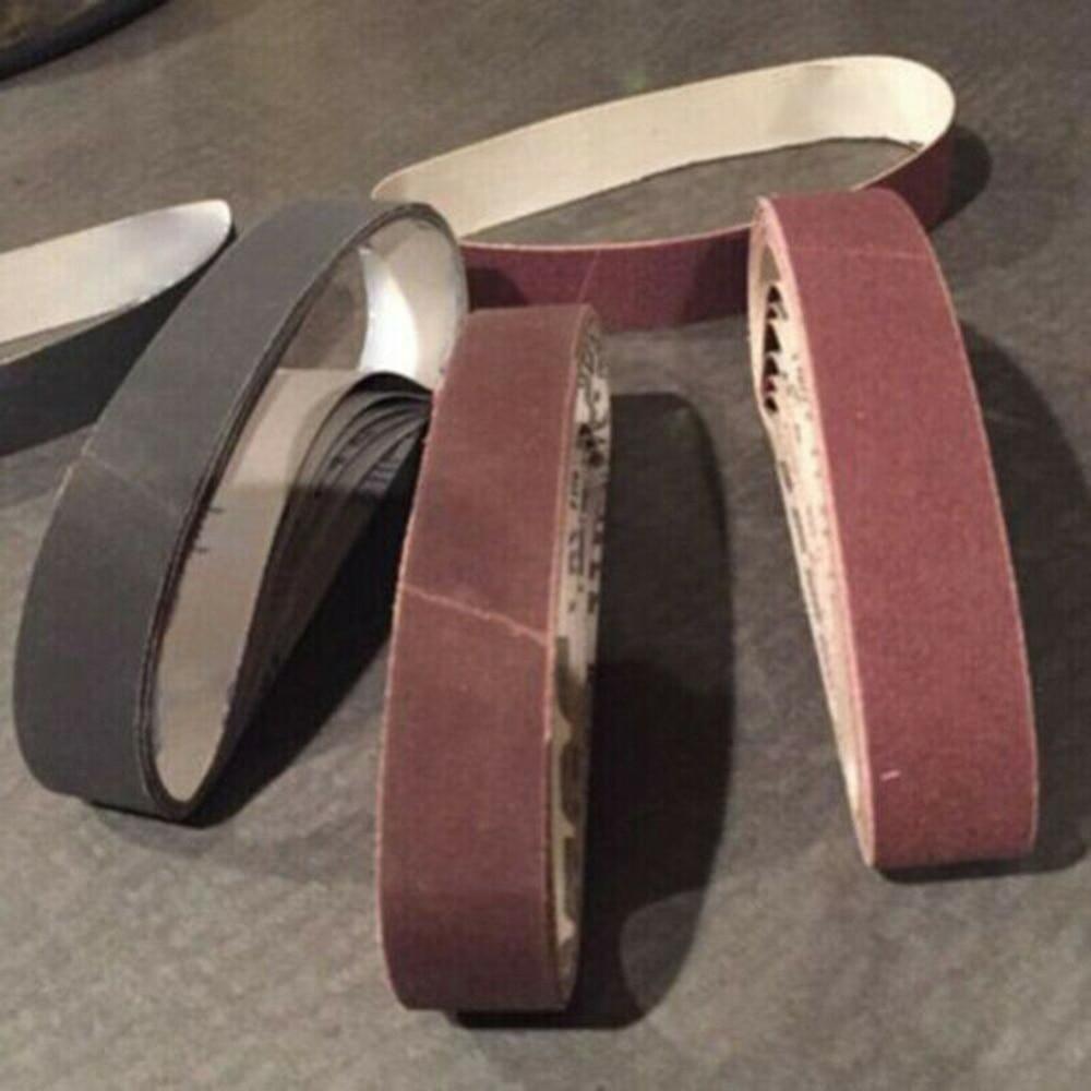 30PCS 120/400/800 Grit Sander Sandpaper 75x457mm Sanding Belt Aluminium Oxide Abrasive Woodworking Tools 52CM