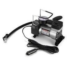 12 12v ポータブルカー電動インフレータポンプ空気圧縮機 100PSI 電気タイヤタイヤインフレータポンプのための自動自転車 Motorcycl