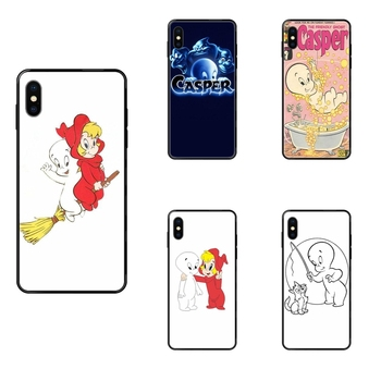 For Xiaomi Mi Note A1 A2 A3 5 5s 6 8 9 10 SE Lite Pro Ultra Black Soft TPU Capa Cover Case Boutique Casper & Friends image