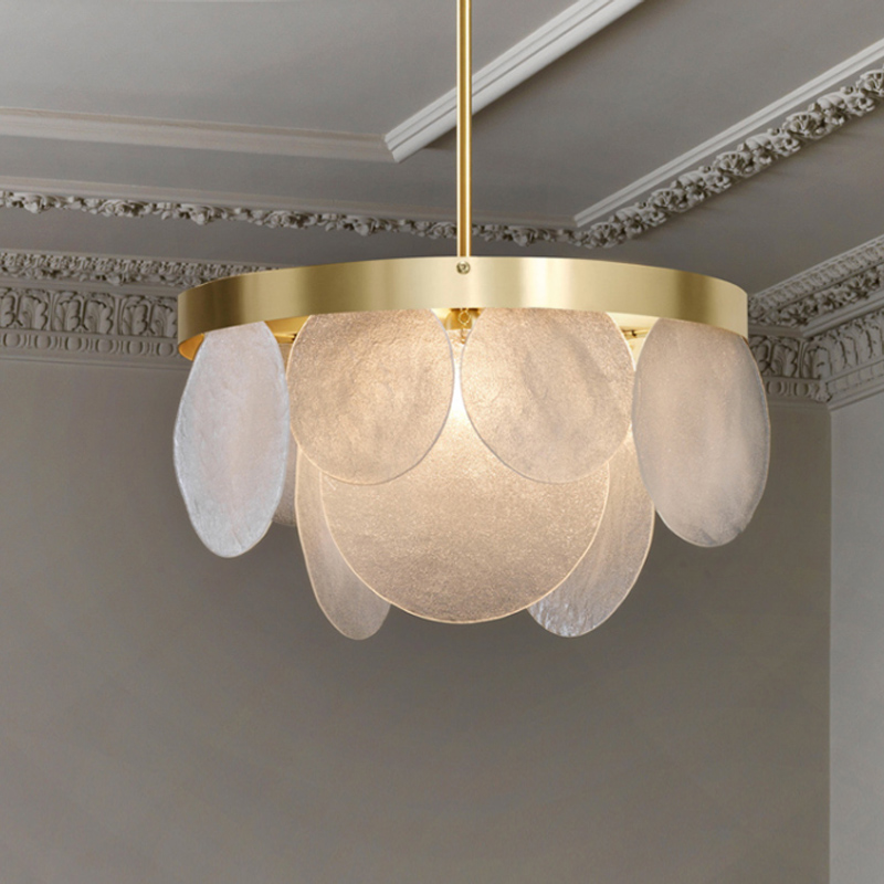 Modern Hanging Ceiling Lamps Nordic Ceiling Clothing Decoration Glass Ball Lamp For Living Room Bedroom Dining Room