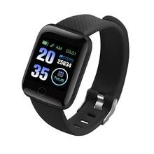 New 116 Plus Smart Watch Men's Digital Wrist Watches Smartwatch Heart Rate Monitor Fitness Pedometer