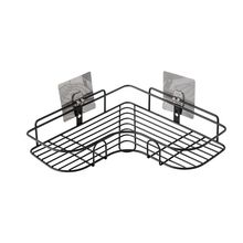 Punch-Free Corner Shelf Bathroom Wash Rack Seamless Wall-Mounted Tripod Storage