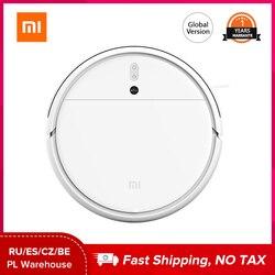 Xiaomi mijia 1c robô aspirador de pó versão global sem fio esterilizar aparelho inteligente varrendo esfregar pisos duros tapete limpo