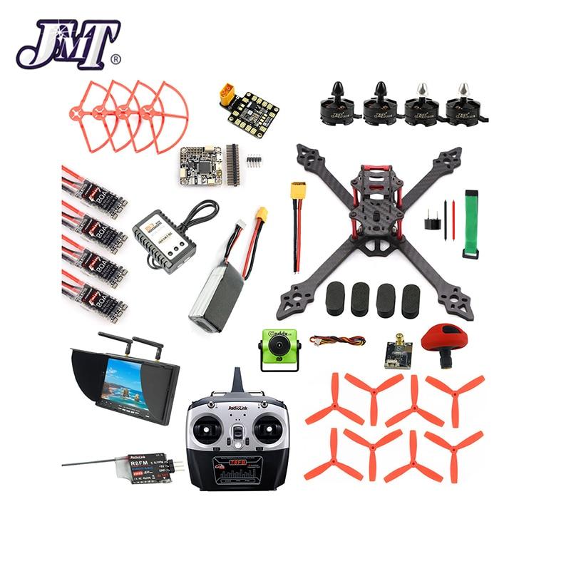 Racer Drone Quadcopter Camera Betaflight RC DIY FPV Monitor VTX Pro XSR220 F4 V2 V3 Display