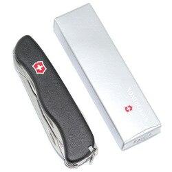 VICTORINOX Victorinox szwajcarski nóż oficerski oryginalny produkt importujący wędrowców 0.8463. 3 praktyczny prezent -